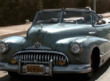 Derelict 1948 Buick Convertible