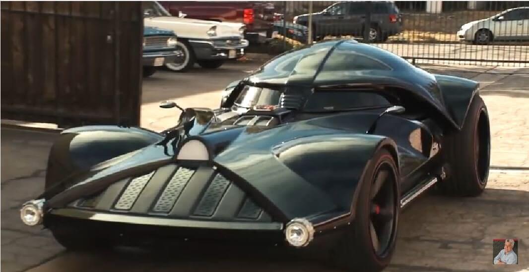 Darth Vader Custom Car