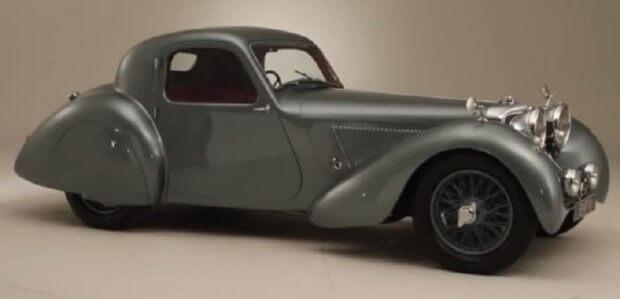 Jaguar SS100 Coupe