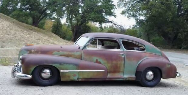 1946 oldsmobile coupe classic custom and hot rod car