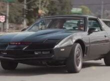 KITT Night Rider car