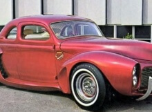 Customized Cars 40's and 50's