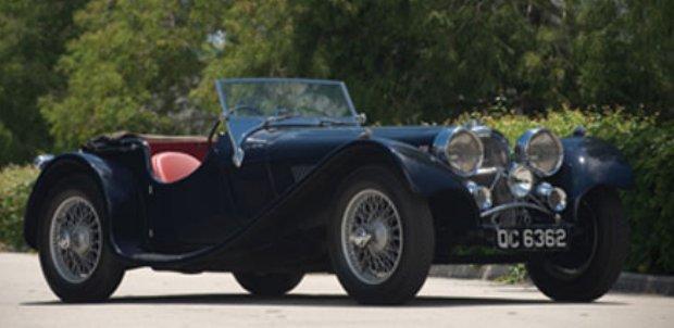1938 Jaguar SS100 Auctioned