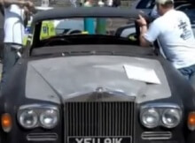 Rolls Royce Roof Chop