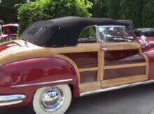 47 Chrysler Woodie convertible