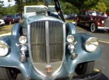 1934 Pierce-Arrow Convertible